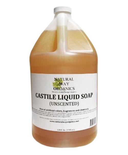 Castile Soap (Liquid) - Natural Way Organics